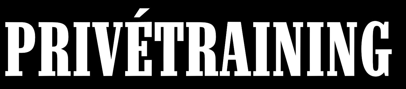 Het logo van privétraining voor motor die in Amsterdam wordt gegeven